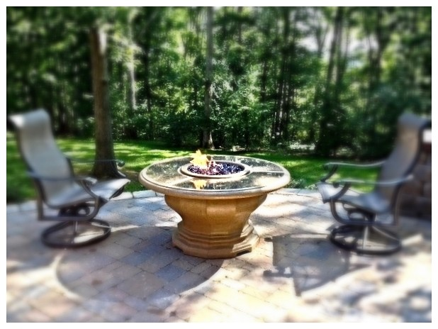 American Fyre Design Chat Fire Pit. Chattanooga, Tn.