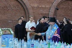 73. The blessing of water on the day of the Svyatogorsk icon of the Mother of God / Водосвятный молебен в день празднования Святогорской иконы Божией Матери