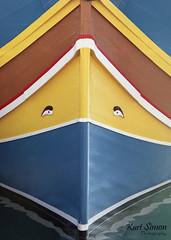 Luzzu (KurtSimon) Tags: film malta canon1v fishermanboat