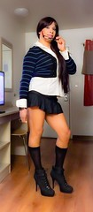 Hello, wanna take me out? (Veronicaj410) Tags: tv crossing cd crossdressing tranny te trans crossdresser ts heshe sheboy girlyit