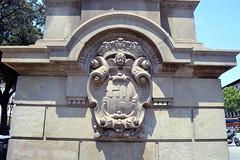 PLAA CATALUNYA - ESCUT DE BARCELONA (Yeagov C) Tags: barcelona catalunya escut plaacatalunya escutdebarcelona