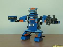 LEGO 4099 LEGO CREATOR Robobots Robot 1 Designer Set (Totobricks) Tags: robot lego mech legocreator designerset robobots lego4099