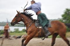 Khortytsia Island (Schatz_the_Rabbit) Tags: horse theatre folk ukraine cossack bow ok ethnic ukrainian equestrian cossacks  etno zaporizhzhya   zaporozhye  zaporizhia
