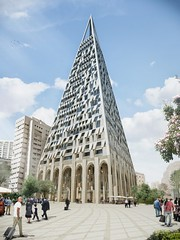 Проект Pyramid Tower от Studio Libeskind в Иерусалиме