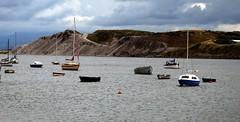 Boats in Walney Channel (billnbenj) Tags: boats cumbria barrow northscale walneychannel