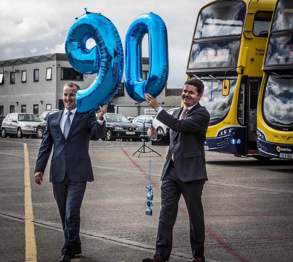 90 NEW BUSES FOR DUBLIN CITY [AUGUST 2015] REF-106974