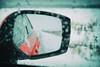 Taking the road less traveled (DHaug) Tags: takingtheroadlesstraveled earlarmstrong southottawa snow storm mirror icy ottawa road lookingback wrx xf1855mmf284rlmois fujifilm xt2 robertfrost