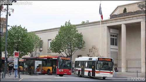 Heuliez Bus GX 117 - Transdev Urbain / Béziers Méditerranée Transports n°715