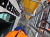 About to decend (stevenbrandist) Tags: liverpool merseyside crane liebherr portofliverpool straddlecarrier