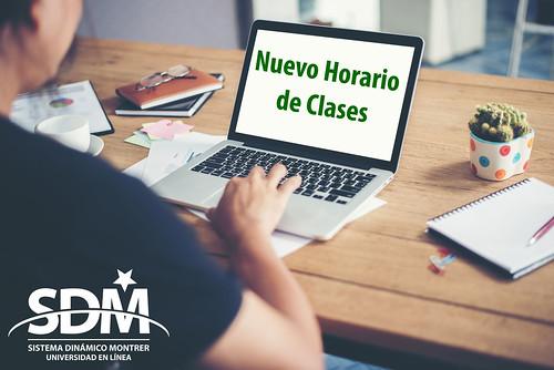 Horario de clases Ener LIC SDM