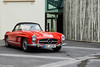 Mercedes w198 II 300SL Roadster (aguswiss1) Tags: mercedesw198ii300slroadster mercedes w198 300sl roadster supercar sportscar redcar classiccar mercedesclassic