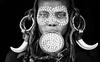 ethiopia - omo valley (mauriziopeddis) Tags: africa etiopia ethiopia ritratto portrait ben bn bianconero blackandwhite reportage travel canon tribe tribù tribal ethnic