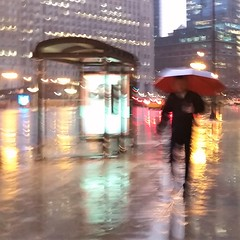 Tuesday (michael.veltman) Tags: walk in the rain wacker drive chicago illinois man umbrella