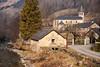 Ustou (Ariège) (PierreG_09) Tags: ariège pyrénées pirineos couserans montagne campagne hiver moulin clocher église rivière coursdeau alet