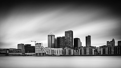 Docklands (Richard Reader (luciferscage)) Tags: 2016 fujixt1 fujifilmxt1 london may longexposure workshop docklands canarywharf thames river city architecture landscape explore