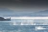 Trieste in a wind storm (s.austinukit) Tags: trieste bora wind gulf miramare caste storm blue water