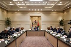 جلالة الملك عبدالله الثاني يلتقي رئيسي مجلسي الأعيان والنواب وأعضاء المكتب الدائم في المجلسين (Royal Hashemite Court) Tags: الأردن الملك عبدالله الأعيان النواب kingabdullahii kingabdullah jordan senate lower house