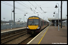 No 170108 25th Jan 2017 Ely (Ian Sharman 1963) Tags: no 170108 25th jan 2017 ely class station diesel engine railway rail railways train trains loco locomotive waml west anglia mainline 170 dmu multiple unit birmingham new street stansted airport cross country