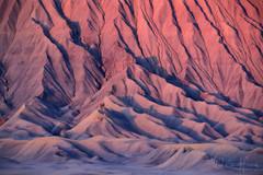 Kissed by Light (Willie Huang Photo) Tags: utah arizona southwest desert mancosshale mancos blue butte factorybutte sunrise light badlands texture landscape scenic nature
