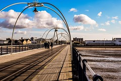 Walk On Southport Pier (georgiabowden) Tags: southportpier