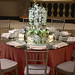 Round Table Setting-Glass Mirror Top 1