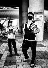 Seoul (bontakun) Tags: street city people bw asia korea seoul southkorea