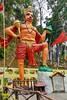 India - Sikkim - Legship - Shiv Mandir Hindu Temple - Hanuman - 5