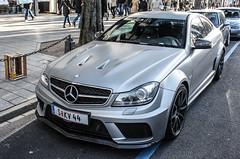 Austria Individual (Salzburg) - Mercedes-Benz C63 AMG Black Series (PrincepsLS) Tags: black salzburg germany mercedes benz austria c plate s 63 license series dsseldorf spotting amg austrian individual blackseries c63 kv44