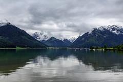 Aachensee, Austria - 9 (www.bazpics.com) Tags: lake holiday alps green water austria see tirol town urlaub may mai alpine maurach oesterreich 2015 aachensee at