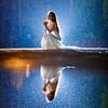 Another Rainy Portrait! (Ilko Allexandroff / イルコ・光の魔術師) Tags: cactus reflection japan 日本 v6 ポートレート nissin 雨 ドレス ilko 反射 strobist ウェディング ストロビスト カクタス