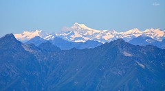 Aletschhorn from Valtellina (120 km) (luca2142) Tags: italy alps switzerland italia suisse swiss svizzera alpi valtellina berneroberland oberland valgerola alpiorobie oberlandbernese aletschhorn rasura pizzoolano