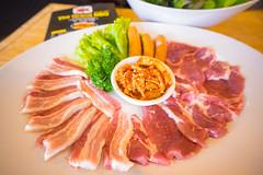 Set Grand Pork ชุดหมู สันคอหมู+หมูสามชั้น+ไส้กรอกญี่ปุ่น