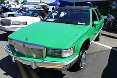 1993 Cadillac Fleetwood (bballchico) Tags: 1993 cadillac fleetwood lowrider ownermarcel fullhousecc jubileedaysshowshine patronscarshow 206 washingtonstate patrons car club seattle
