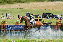 Powys Event Rider Franky Reid-Warrilow riding 'Dolley Whisper'