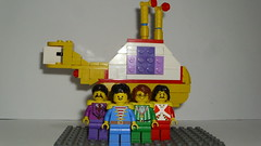 The Beatles (andresignatius) Tags: yellow club hearts lego band submarine beatles peppers lonely sgt the