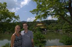 Vin & Suus bij Kinkaku-Ji