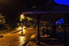 Monsoon_ Darjeeling,2015 (Sandipa Malakar (bristii)) Tags: blue india rain yellow umbrella eos asia rainyday dusk monsoon bluehour lightnshadow canon1740l northbengal canon60d bengalwestbengal darjeelingmall eos60d 121clicks darjeelingmountainhilltown monssonmood