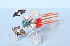 Cale Incorporated Q-12 Racer (legoz tourist 328) Tags: lego space micro shield racer garc microscale microspacetopia