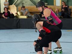 oak_vs_resist_L3500484 1 (nocklebeast) Tags: ca usa rollerderby rollergirls richmond skates bayareaderbygirls badg oaklandoutlaws richmondwreckingbelles va0001991072 effectivedateofregistrationaugust152015 va1991072