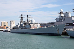 D97 HMS Edinburgh 2nd August 2015 (John Eyres) Tags: she one is edinburgh all time under any been have destroyer few depart type portsmouth around scrapyard 1983 now left naval seen remains tow base 42 turkish withdrawn hms dockyard decommissioned rumours royalnavy languishing 42s