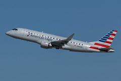 American / ERJ170 / N206NN / KLAX (_Wouter Cooremans) Tags: klax lax losangeles losangelesinternationalairport spotting spotter avgeek aviation airplanespotting american erj170 n206nn
