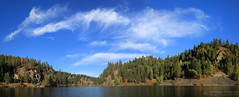 Chain Lakes Panorama (right2roam) Tags: chainlakes washington state selkirk mountains valley scotia canyon elk camden right2roam fall kayaking eastern panorama