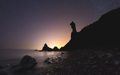 Playa de Maro.jpg (Ruiz Molina) Tags: nocturnas estrellas