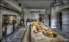 New Inn, Kitchen, Stowe 4 (Darwinsgift) Tags: new inn kitchen victorian stowe buckinghamshire national trust hdr 14mm nikkor f28 d ed nikon d810 museum vintage photomatix bygone food history
