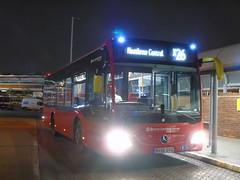 Shorter Express (ultradude973) Tags: epsom coaches group quality line hr richmond mercedes benz mercedesbenz citaro c2 mcs09 bv66gyg x26 london bus heathrow airport central station west croydon extremely rare working vehicle