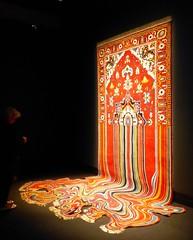 Melting rug by Faig Ahmed (Azerbaijan) (Snuva) Tags: mona museumofoldandnewart ontheoriginofart hobart tasmania australia