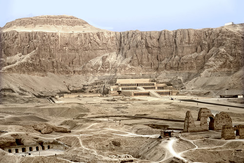 The Memorial Temple of Hatshepsut at Deir El Bahari
