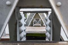 52-Wk 3 - Frames post (dwvarch) Tags: downtown indianspringpark overcast pentaxk3ii suspensionbridge waco washingtonavegulfstation