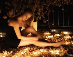 Way too long (Toisto) Tags: women candle sexy pretty beautiful beauty soft nikon nikkor photoshoot longexposure
