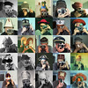 25 cameras, 25 hats (pho-Tony) Tags: cameraselfportraits camera film filmcamera analogue analog ishootfilm vintage hat headgear selfportrait selfie mirror 52camerasin52weeks tonykemplen